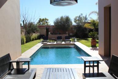 Belle villa meublée dans au golf Marrakech | Agence Immobilière