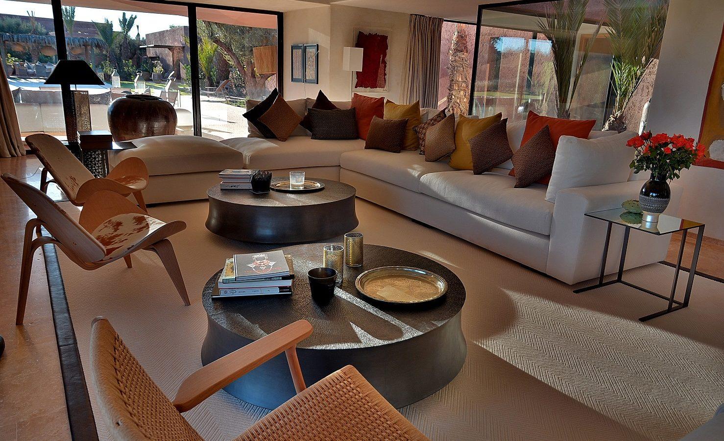 villa de luxe golf Marrakech