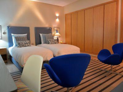 villa de luxe golf Marrakech  chambre double
