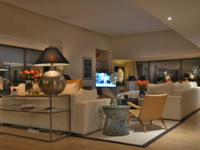 villa de luxe golf Marrakech  Salon