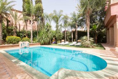 Villa au golf d'amelkis pour Location de vacances | Agence Immobilière Marrakech
