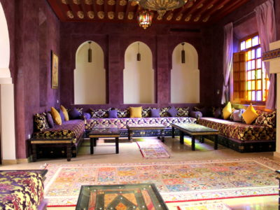Superbe Villa à la Palmeraie Marrakech salon