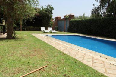 Location villa meublée au Golf de Marrakech | Agence Immobilière