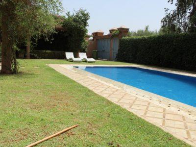 Location villa meublée au Golf de Marrakech (2)