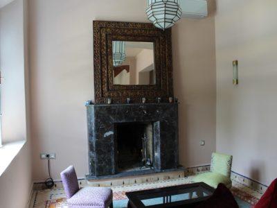 Location villa meublée au Golf de Marrakech salon