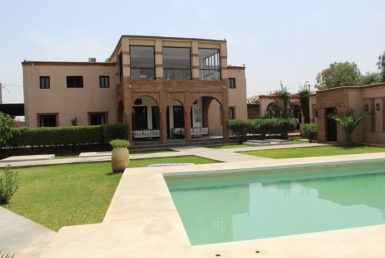 Location villa proche des golfs | Agence Immobilière Marrakech