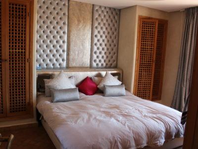 Marrakech Golf Location villa de luxe chambre à coucher
