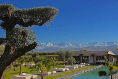 Villa de luxe pour vos vacances à Marrakech | Agence Immobilière
