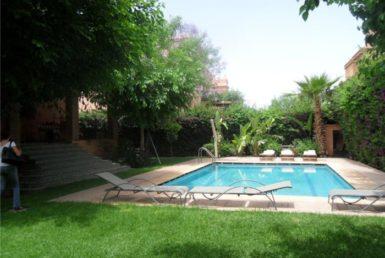 Villa à louer Targa | Agence Immobilière à Marrakech