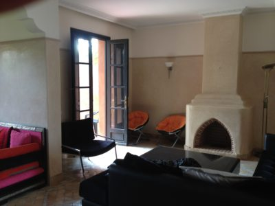 Villa meublée à louer cheminée