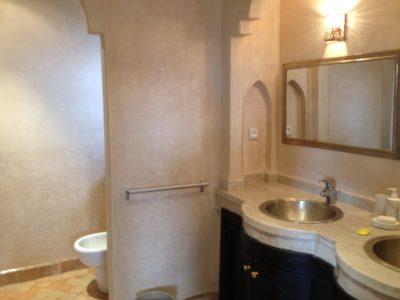 Villa meublée à louer salle de bain