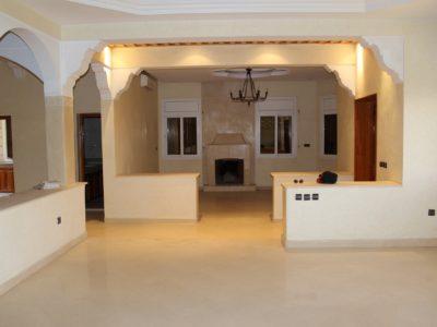 Villa spacieuse proche Marrakech salon