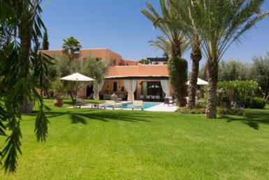 Villa de paix pour location de vacances | Agence Immobilière Marrakech