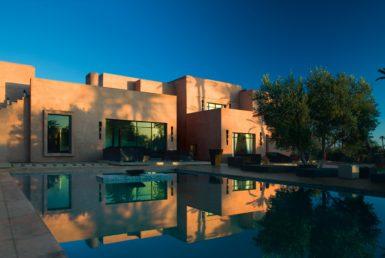 Agence Immobilière - Luxueuse villa meublée dans la palmeraie de Marrakech