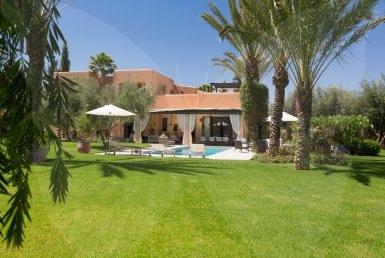 Charmante villa à louer pour vos vanances | Agence Immobilière Marrakech