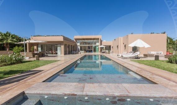 Demeure de luxe pour vos vacances à 6 Km du centre ville de Marrakech
